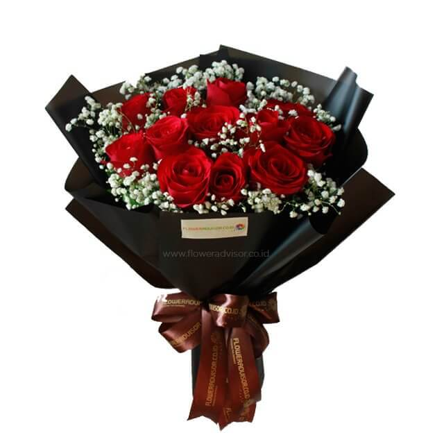 Classic Red - Special offer - Hand Bouquets