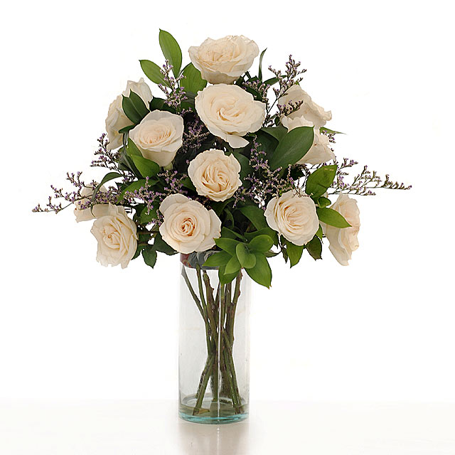 Send Bouquet Of White Roses Delivery To Singapore