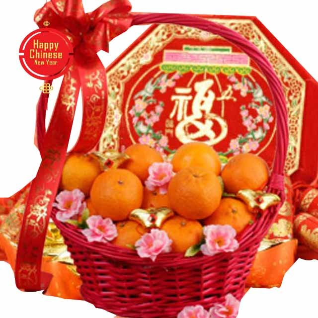 CNY - Oranges Kisses - Chinese New Year