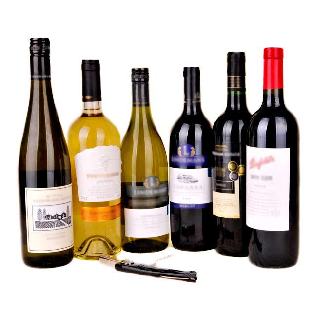 6-Bottles Aus Wine