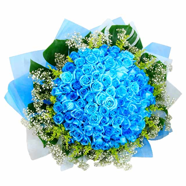 Blue  Spectacle - Hand Bouquets