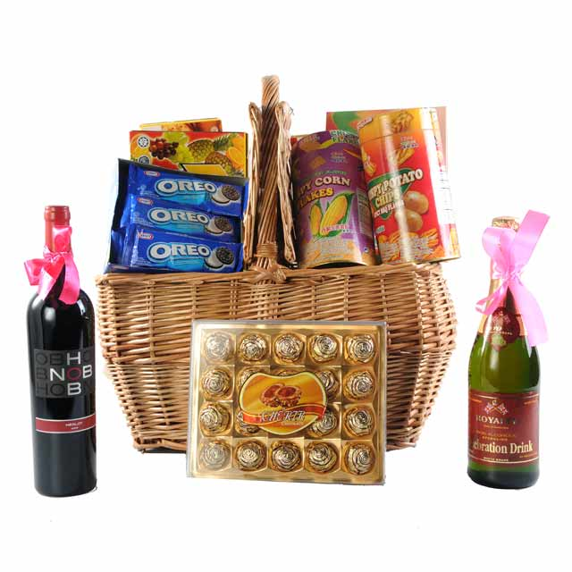 Sweet and Savory Delights - Gourmet Hampers