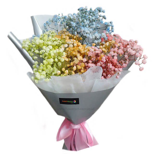 Catching The Rainbow - Hand Bouquets
