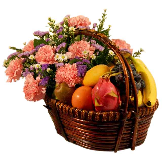 The Pink Of Health - Flowers Basket