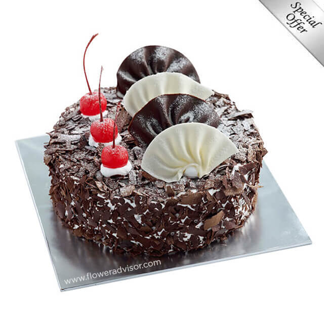 Black Forest (1kg) - Birthday