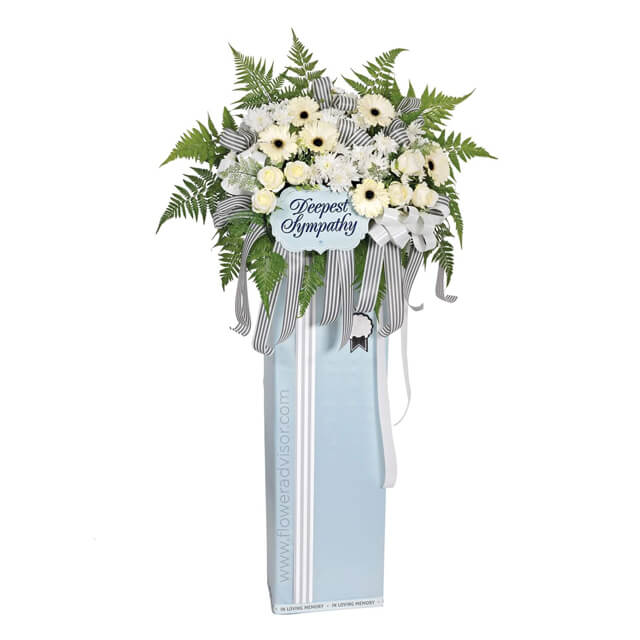 Comforting  Thoughts - Funeral Flowers