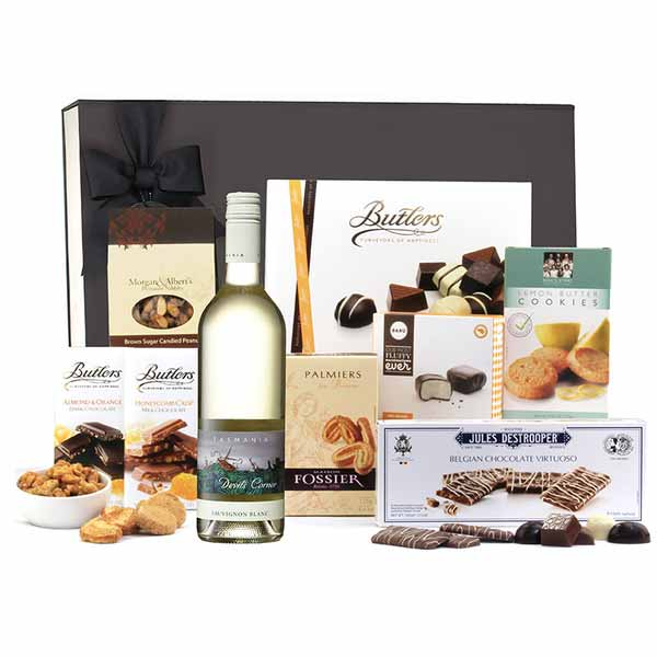 Sweet & White Hamper - Gourmet Hampers