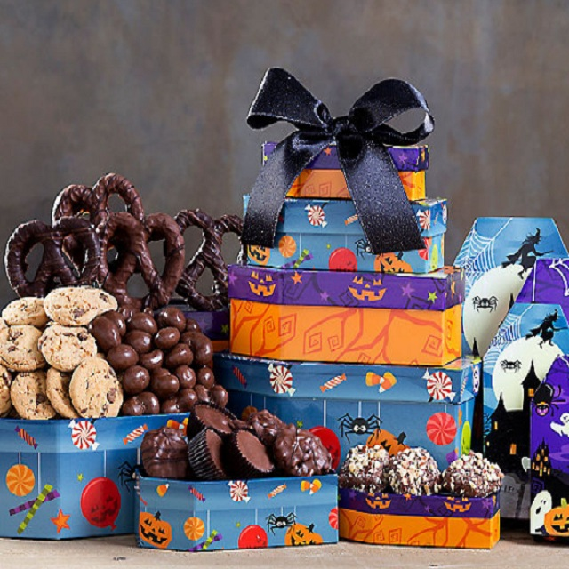 Halloween Rocky Mountain Chocolate Factory Tower