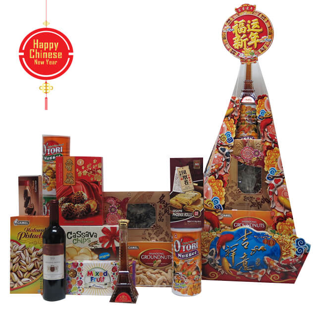 CNY - The Lucky Dog Hampers - Chinese New Year