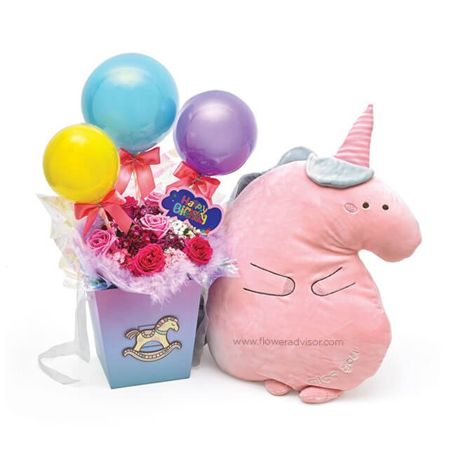Chubby Unicorn - Birthday