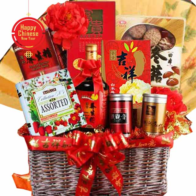 CNY- Gold Digger Hampers - Chinese New Year Hampers