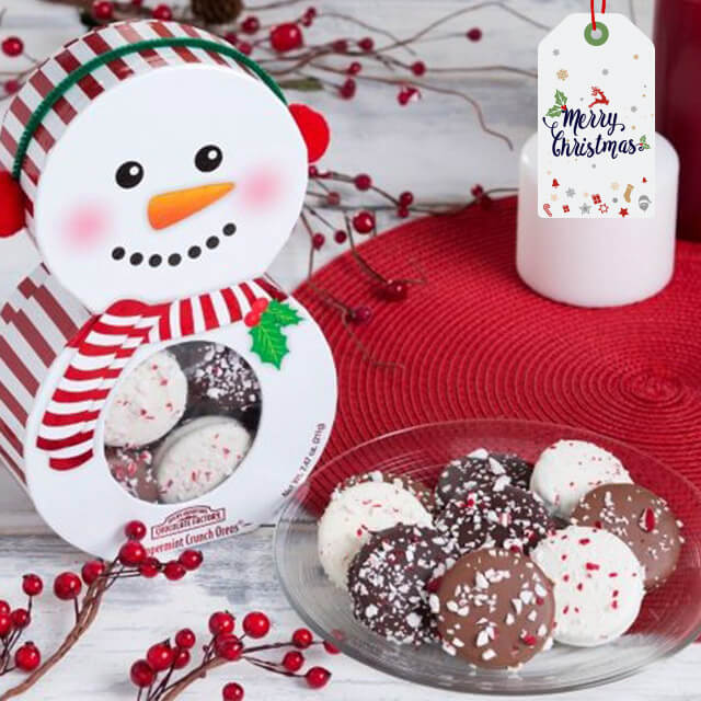 Xmas - Peppermint Dipped Oreo Holiday