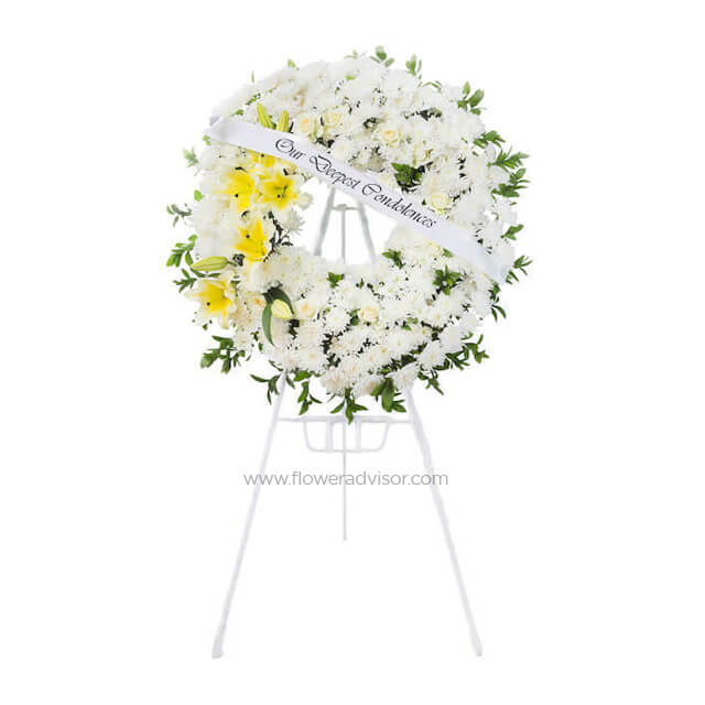 White Like Angel - Condolence