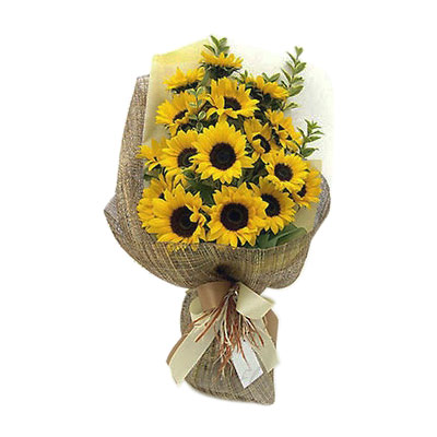 Bright Sunflowers Bouquet - Get Well Soon