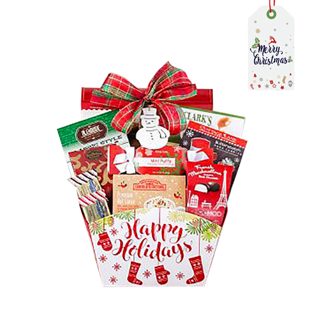 Frosty Winter Special Basket - Christmas
