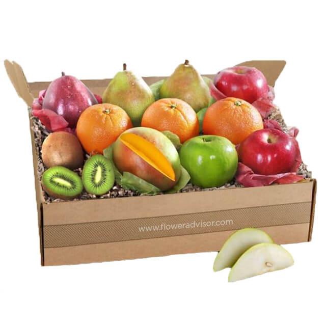 A Touch of Tropical Fruit Gift Collection