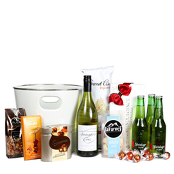 White Wine and Steinlager Hamper