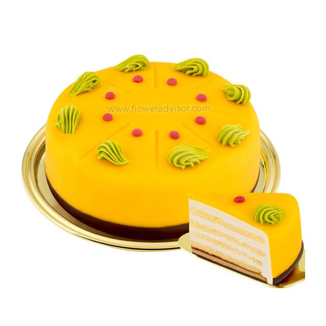 Dessert Passion Fruit Cake