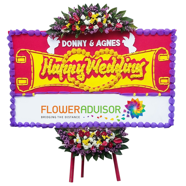 FA Wedding flower board - Funeral Flowers